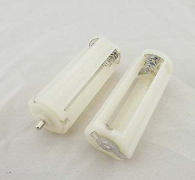 5pcs Replacement Battery Holder Case Box 3x AAA LR03 UM-4 For Flashlight White