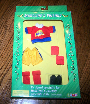 Madeline New In Box Nrfb Goal Soccer Outfit By Eden New