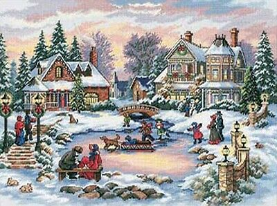 """Dimensions Counted Cross Stitch kit 16"""" x 12"""" ~ TREASURED TIME Sale #08569"""