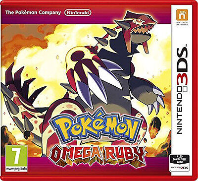 Pokemon Omega Ruby Nintendo 3Ds Game - Brand New And Sealed
