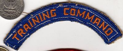 Original US ARMY AIR CORPS WWII era Training Command Tab Patch WW2 Air Force