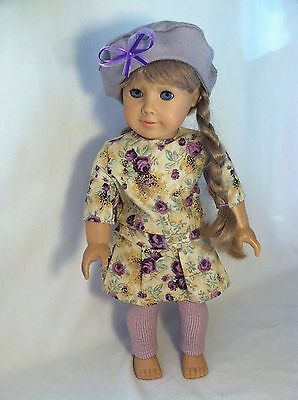 18 inch doll clothes With Hat. Handmade To Fit American Girl Or Similar Doll