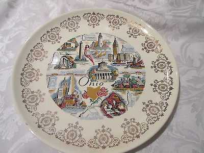VINTAGE OHIO State Collector's Plate