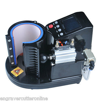 FREESUB 110V Pneumatic 11OZ Mug Sublimation Heat Press Machine