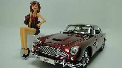 Exotic Classic Car Sport Aston Martin Show Race Rare GT 1 24 Carousel Red GBY
