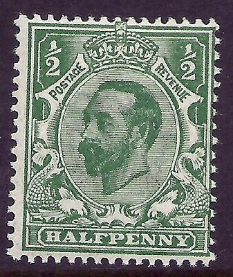 sg323 N1(4) ½d Bluish green Downey Head with cert unmounted mint/MNH