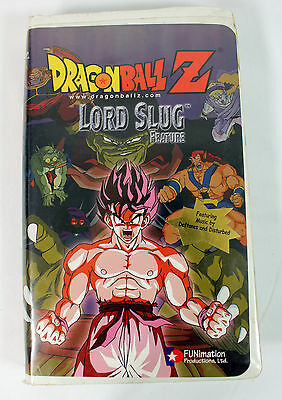 Dragonball Z Lord Slug Featuring Music by Deftones and Disturbed VHS Video Tape