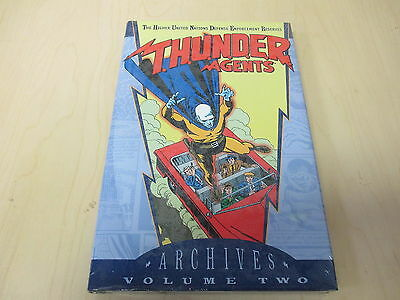 Thunder Agents Archives Vol 2 DC Comics Hardcover Book Sealed