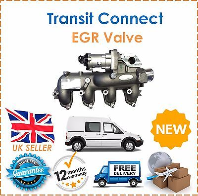 For Ford Transit Connect 1.8TDCI  2007-2013 EGR Valve With Manifold New