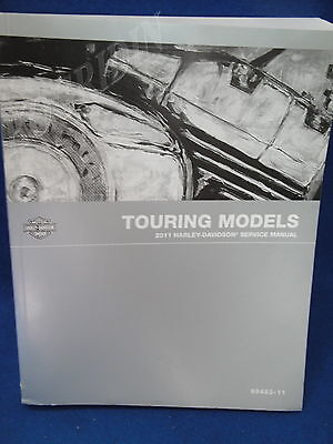 2011 Harley Davidson touring service manual ultra electra glide flhx flh trike