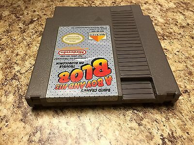 A Boy and His Blob Trouble on Blobolonia Nintendo NES **30Day Guarantee**
