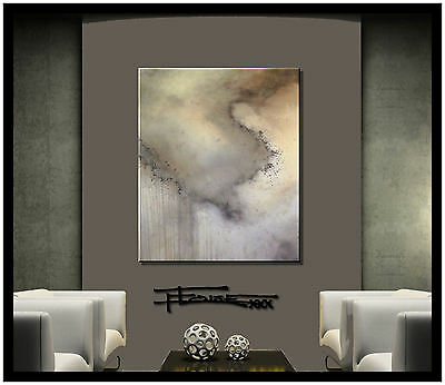 CONTEMPORARY MODERN ABSTRACT WALL PAINTING FINE ART....READY TO HANG...ELOISExxx