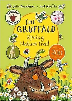 Gruffalo Spring nature trail sticker activity Book with over 200 stickers - NEW