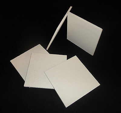 """KAOWOOL THERMAL INSULATION  BOARD """"M"""" GRADE 6"""" x 6"""" x 1/4"""" THICK ITEM No. 303"""