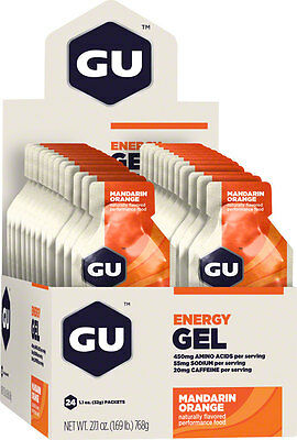 GU Energy Gel: Mandarin Orange, Box of 24