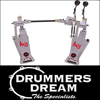 Axis AX-AL-2 A Series Double Bass Drum Pedal - Longboard - RRP $1299! SAVE $314