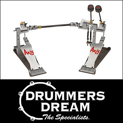 Axis AX-A-2 A Series Double Bass Drum Pedal - Shortboard - RRP $1199!  NEW