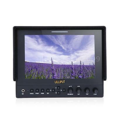 "Lilliput 663 7"" IPS 1080P HDMI IN HD Monitor for Canon DSLR Full HD Camcorder AR"