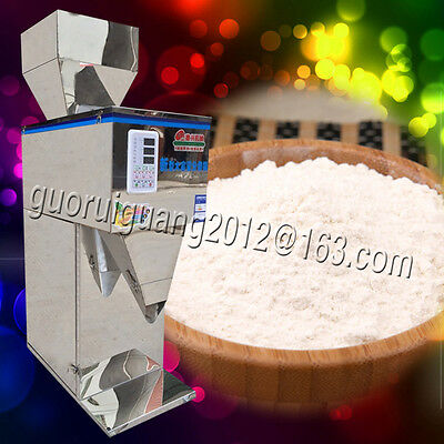 50-2500G automatic weigh powder filling machine for tea,grain,seed,110V/220V