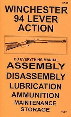 Winchester Model 94 Lever Action Do Everything Disassembly Care Book New