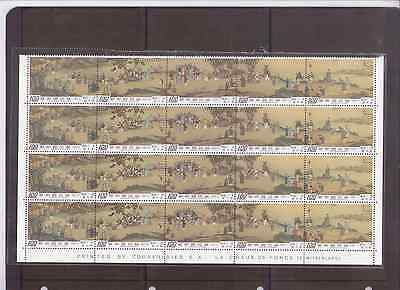 Taiwan  RO China 1975 Ancient Chinese Painting , Blk of 4 Mint (See Scan)