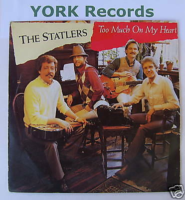 """STATLERS - Too Much On My Heart - Ex Con 7"""" Single"""
