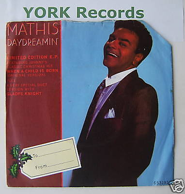 """JOHNNY MATHIS - Daydreamin' - Excellent Con 7"""" Single"""