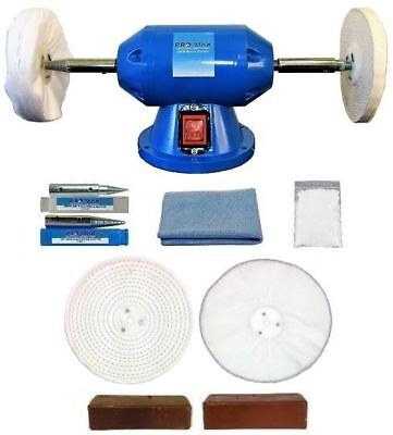 Jewellery Bench Polisher - Grinder With 8pc Polishing Kit JPKB-0002