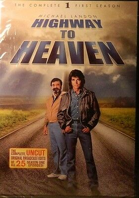 HIGHWAY to HEAVEN The COMPLETE 1st Season 25 Episodes Approx 20 Hours SEALED 5Di