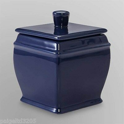 Cannon Covered Jar - Navy