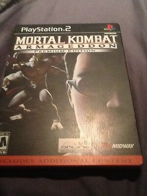 Mortal Kombat: Armageddon -- Premium Edition  (Sony PlayStation 2, 2006)