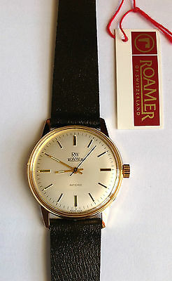 NEW Vintage 1970s Roamer ANTICHOC Mechanical Gents Watch