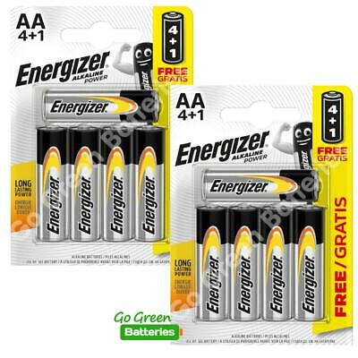 10 x Energizer AA Alkaline Power Plus Batteries LR6 MN1500 MIGNON STILO 2026 exp