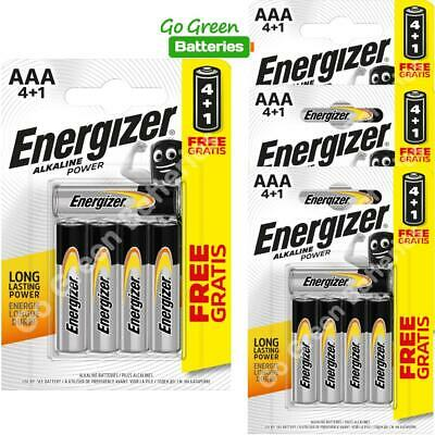 20 x Energizer AAA Alkaline Power Plus Batteries - LR03, MX2400, MN2400, MICRO