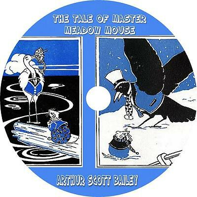 Tale of Master Meadow Mouse, Arthur Scott Bailey Childrens Audiobook on 1 MP3 CD