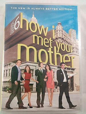 How I Met Your Mother: The Complete Season 6 (DVD, 2011, 3-Disc Set) -NEW-