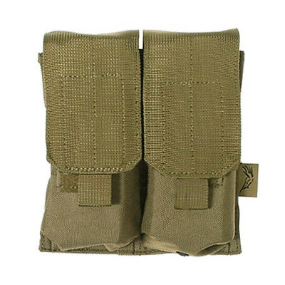 Flyye Armée Tactique M4/M16 Double Mag Pouch Molle Airsoft Sangle Cordura Kaki