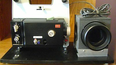 Movie Film Projector,  Video Transfer, Dual 8, Reg.8 and Super 8 Silent
