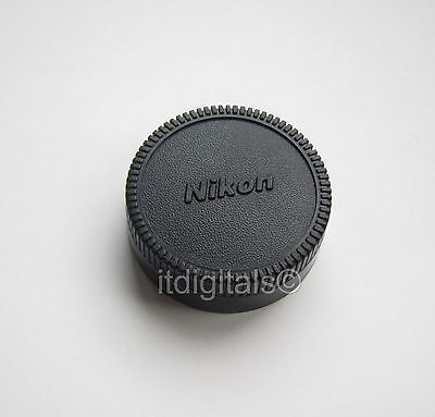 For Nikon Rear Lens Cap EM F6 FE 2 FE-2 FM2n F4e Back Dust Safety Glass Cover