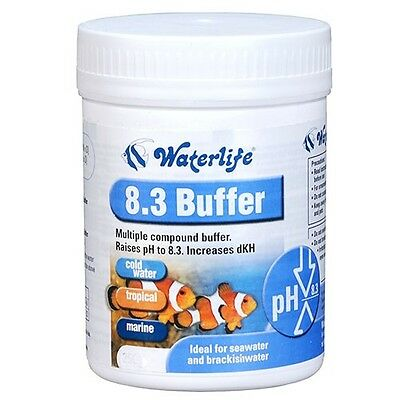Waterlife Acid Buffer Raise pH to 8.3 Tropical & Marine Aquarium FIsh Tanks 230g