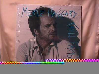 Merle Haggard Chill Factor SEALED LP