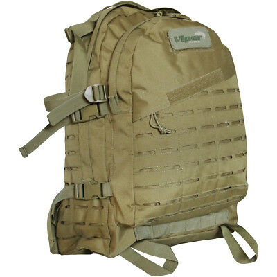 Viper Special Ops Military MOLLE Backpack 45L Army Bag Combat Rucksack Coyote