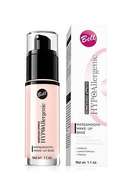 BELL HYPOAllergenic MAT & SMOOTH MAKE-UP FOUNDATION BASE NEW VERSION NEW FORMULA