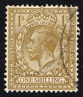GB Sc# 172 = 1913 King George V 1 Shilling = USED VF