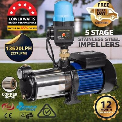CENTAURUS 1800W Multi Stage Water Pump High Pressure Auto Garden Tank Irrigation