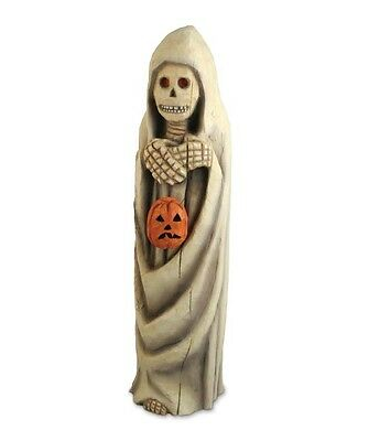 Bethany Lowe Halloween Skeleton With Pumpkin Anthony Costanza Closeout CC0048