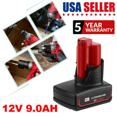 2X For Milwaukee M18 Lithium Ion 18V Battery XC 4.0AH 48-11-1840 48-11-1850 Tool