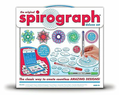Spirograph Deluxe Design Set by Kahootz (01001-S) FREE SHIPPING (BRAND NEW)