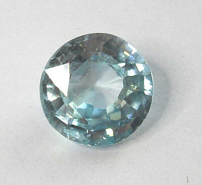 2,38 ct  Zircon Bleu du Cambodge