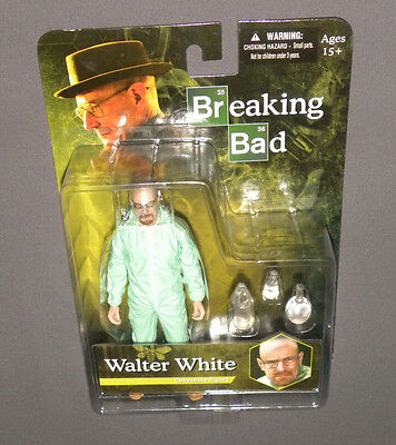 Walter White Collectible Figure Breaking Bad MEZCO Hazmat Suit NEW